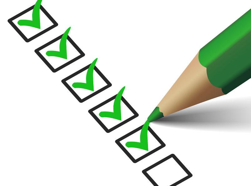 Divorce document checklist